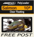 10Ft Salmon Polyleader     FREE POST