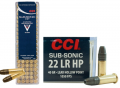 CCI .22LR Subsonic 40gr Hollow Point  (BOX 100) (GK1018)