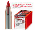 270-6.8mm .277 110 gr V-MAX� with cannelure (GE1086)
