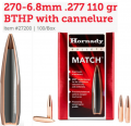 270-6.8mm .277 110 gr BTHP with cannelure (GE1037)