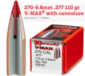 270-6.8mm .277 110 gr V-MAX� with cannelure (GE1129)